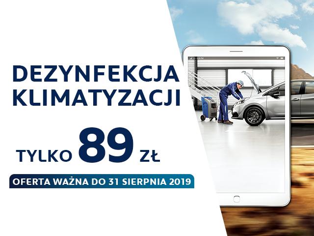 Przygotuj się do lata razem z Peugeot i ofertą serwisową Klimatyzacja 2019