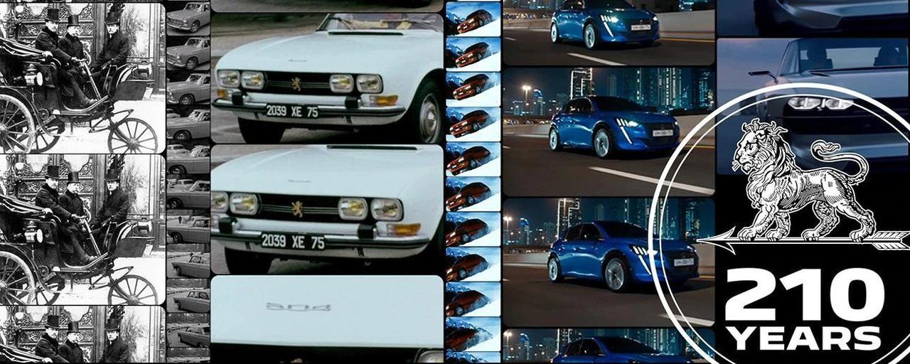 210 lat Peugeot