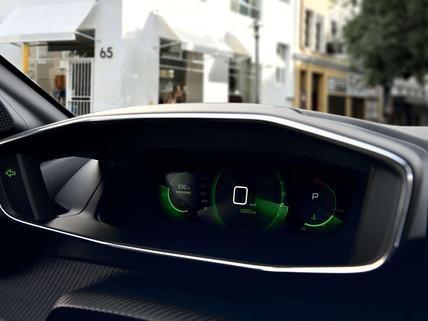 Nowy PEUGEOT 208 – panel wirtualnych zegarów 3D