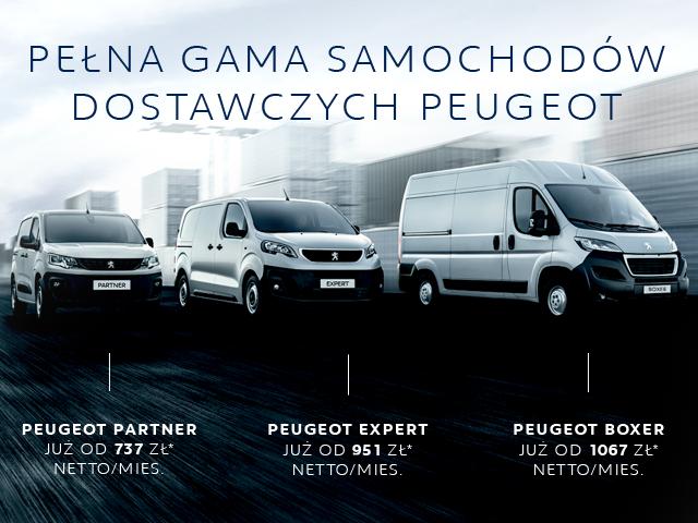 Poznaj Ofertę Samochodów Dostawczych Peugeot