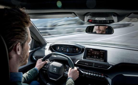 suv 3008 system ostrzegania o zmęczeniu kierowcy