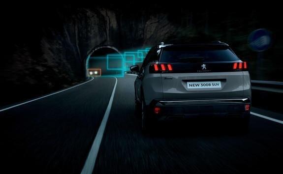 suv 3008 systemy zmiany świateł drogowych / mijania