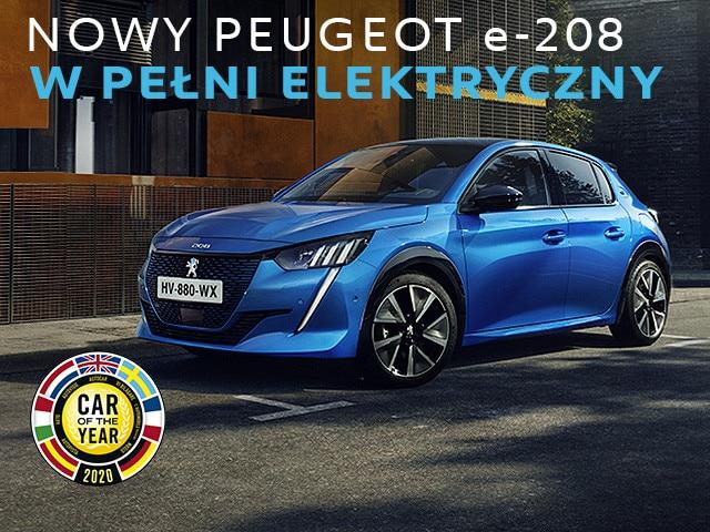 W pełni elektryczny Peugeot e-208
