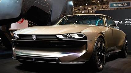 Peugeot koncepcyjnie na targach w Genewie 2019