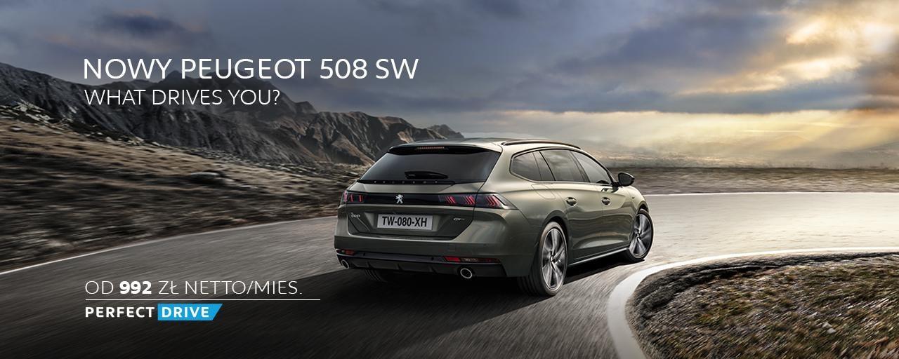 Sprawdź atrakcyjną ofertę finansowania nowego Peugeot 508 SW