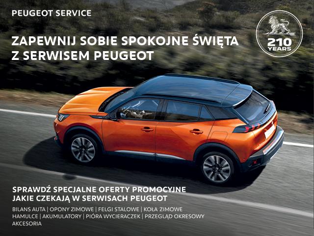 Peugeot bezpieczne święta