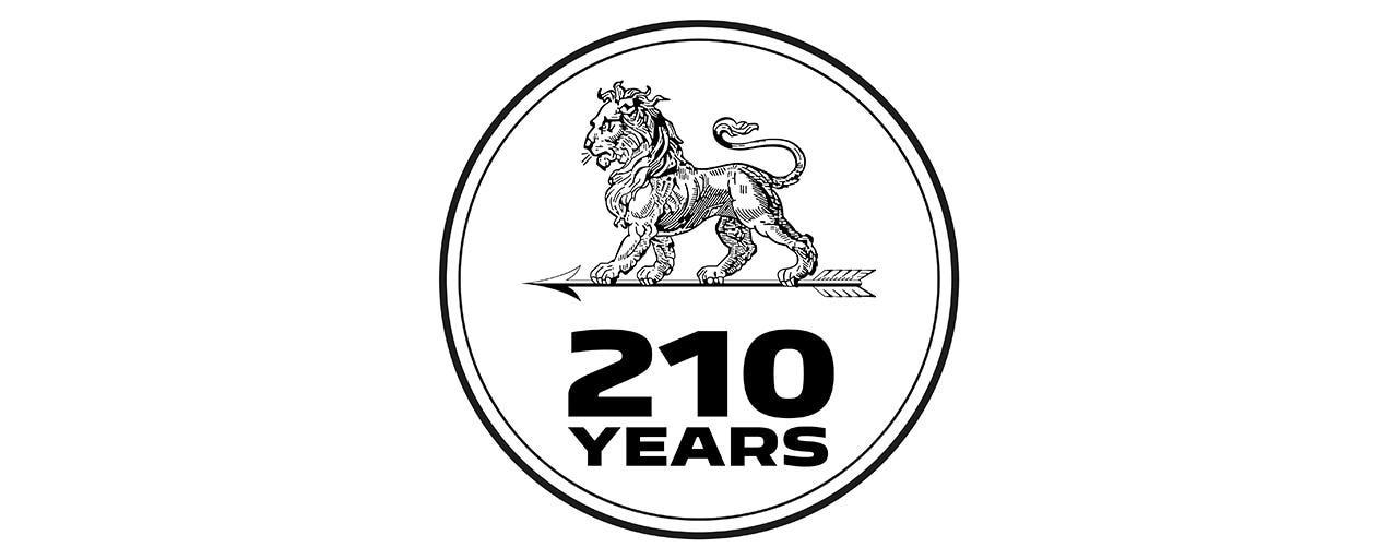 Logo 210 lat Peugeot