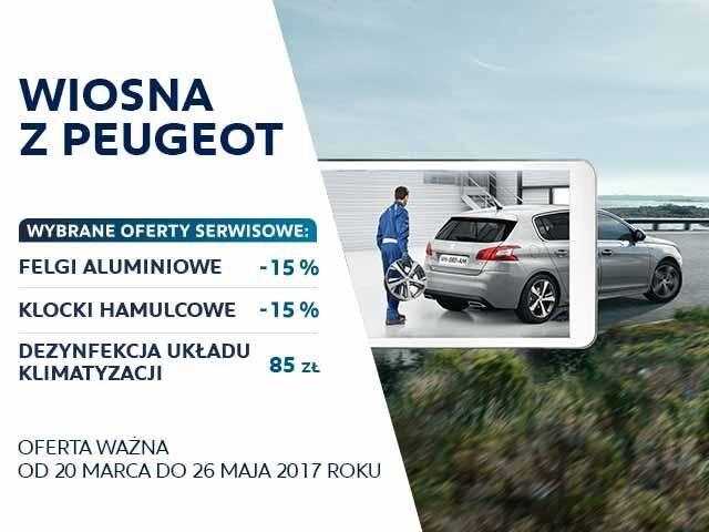 wiosna z Peugeot