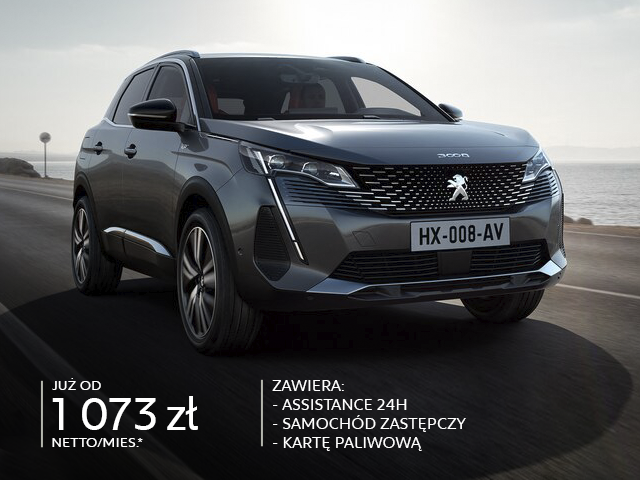 nowy Peugeot SUV 3008