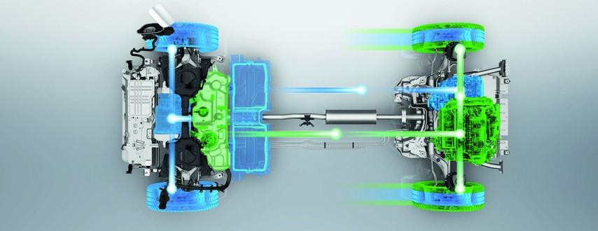 Za SUVem 3008 Hybrid4 dla klientów biznesowych kryje się nowoczesna technologia