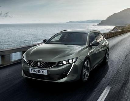 Sprawdź spalinową wersję nowego Peugeot 508 SW