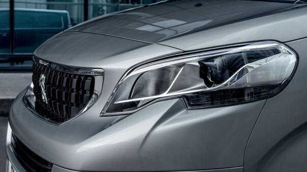 Nowoczesna i solidna sylwetka Peugeot Expert budzi zaufanie