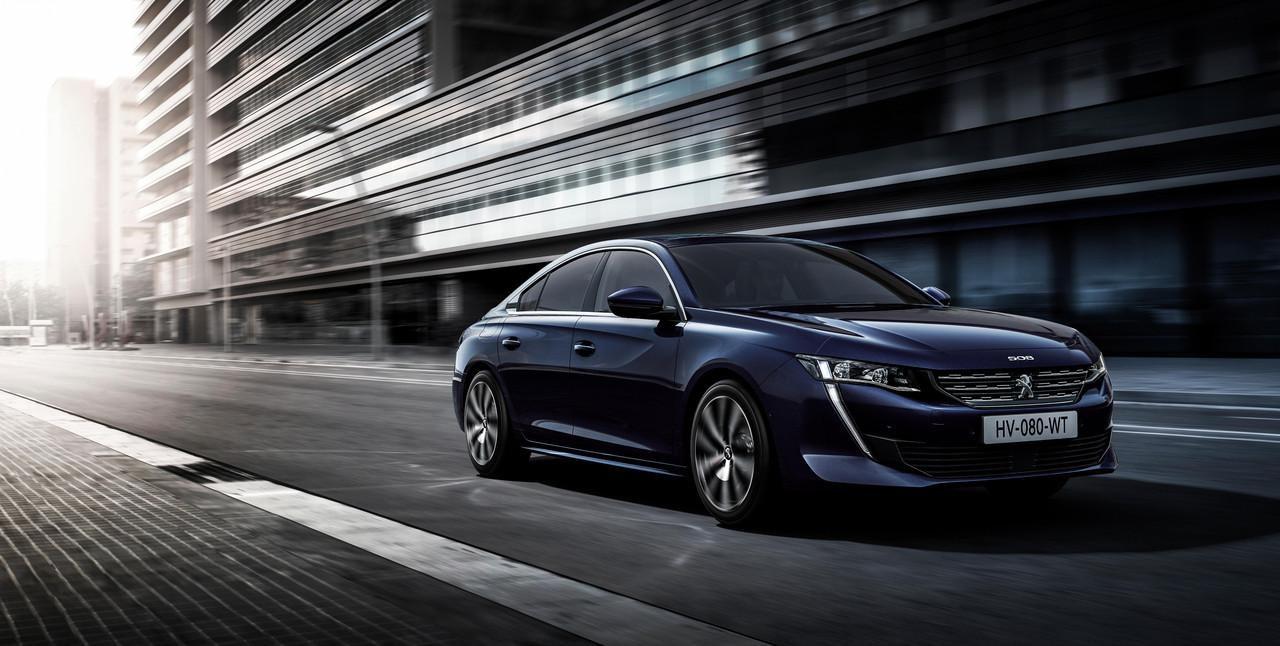 Nowy PEUGEOT 508 - sedan klasy premium dla biznesu