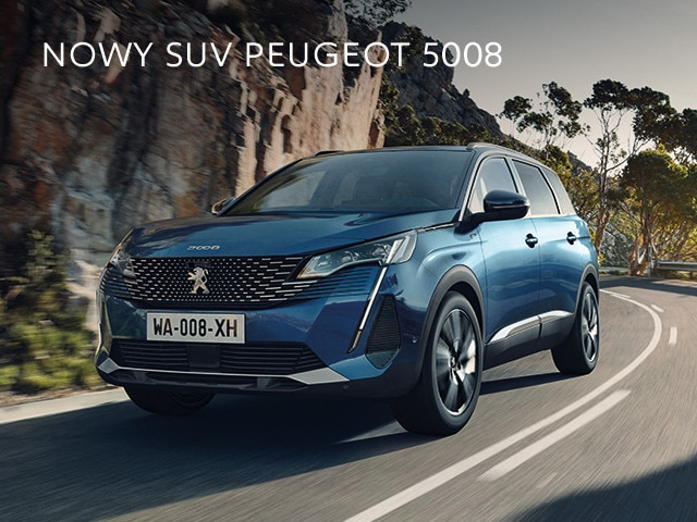 nowy Peugeot SUV 5008