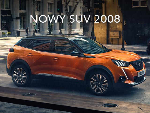 Poznaj nowego SUV Peugeot 2008