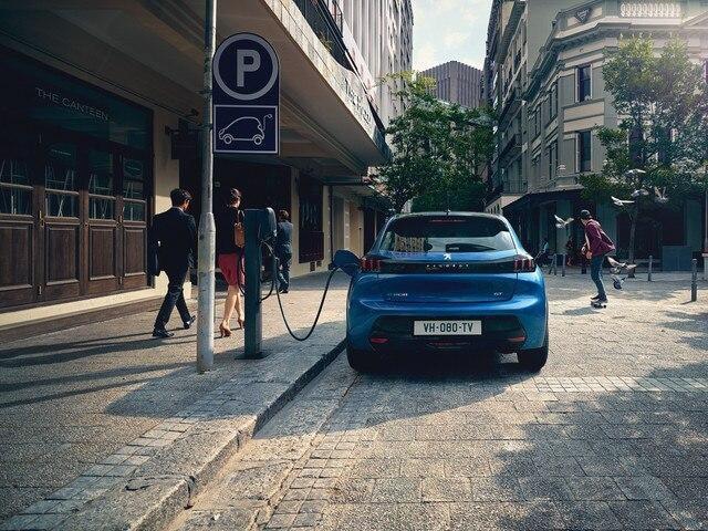 ładowanie publiczne Peugeot