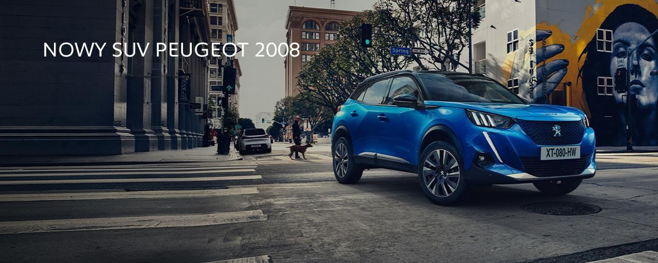 Nowy SUV PEUGEOT 2008 i NOWY SUV PEUGEOT e-2008  zostały ujawnione. Poznaj je lepiej już dziś.