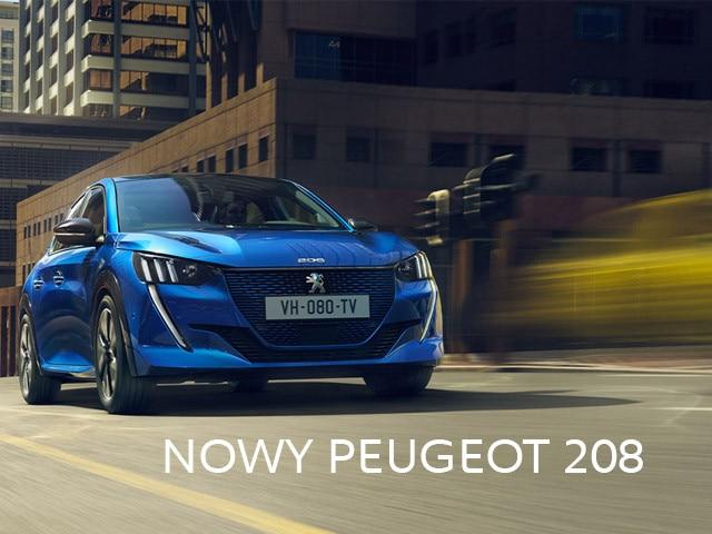 popularny Peugeot 208 w nowej, drapieżnej odsłonie