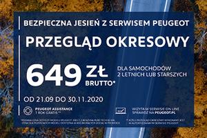 Peugeot serwis RZEGLĄD OKRESOWY DLA SAMOCHODÓW 2 LETNICH LUB STARSZYCH