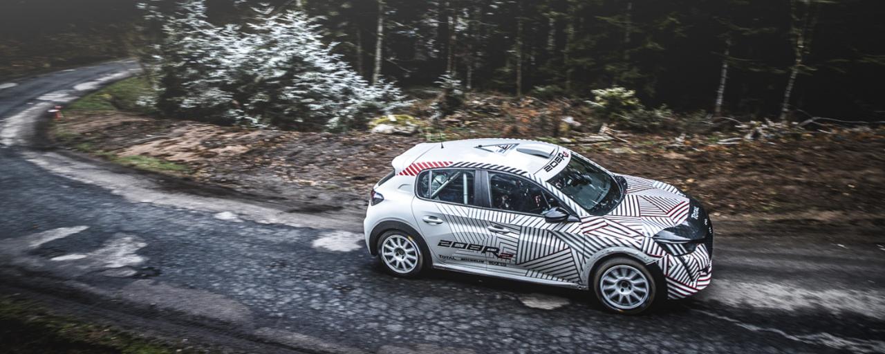 Peugeot Sport zadowolone z pierwszych testów 208 R2