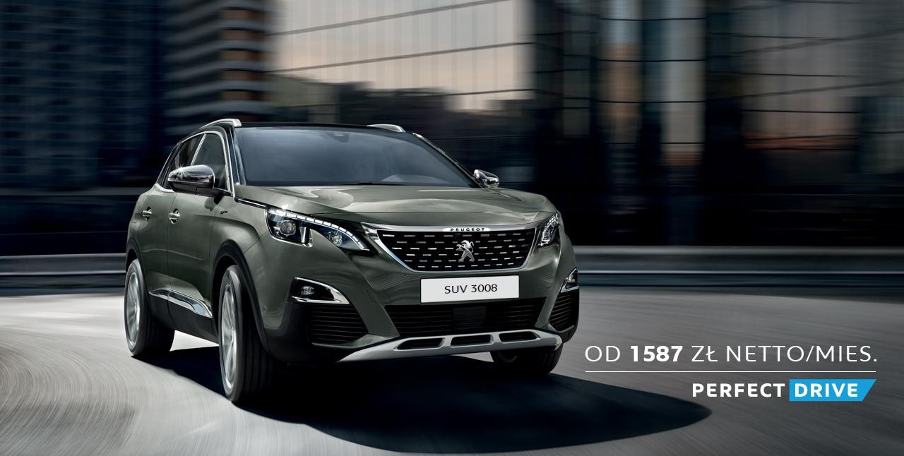 PEUGEOT SUV 3008 GT PERFECT DRIVE